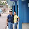 Ronny and Olga at his clinic in Juticalpa, Olancho, Honduras
