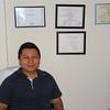 Ronny in his clinic office in Juticalpa Honduras