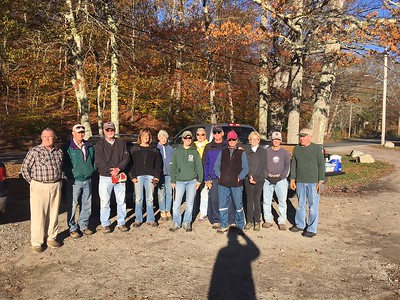 November 4, 2016 Trail Race Prep Work Party