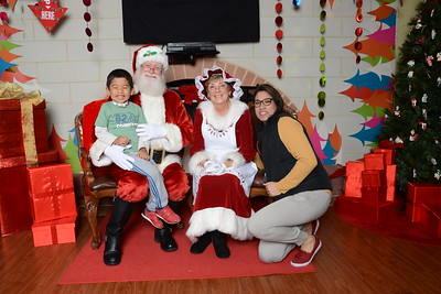 Santa Booth - Photos by Mary Claire Fredette