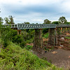 Lockyer Creek Bridge on the Brisbane Valley Rail Trail.