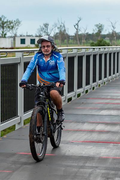 Lockyer Creek Bridge 'Soft Opening' bike ride
