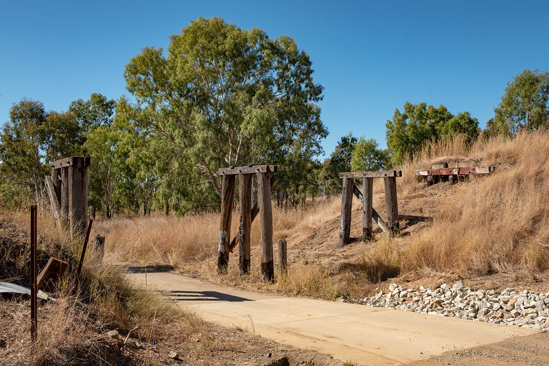 New section between Moore and Toogoolawah on the Brisbane Valley Rail Trail