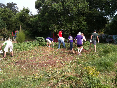 2012 Last Organic Outpost Volunteering