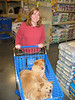 Susan!!  The grocery list said milk and eggs.  Puppies was not written anywhere!!