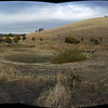 180 degree panorama - December 03, 2013. Today the WCOSF Tuesday Group planted nearly 800 bunch grass plugs out of sight below the dam on the left . (this photo is for the time-lapse gallery)