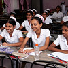 Nursing students in English class.