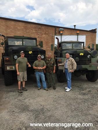 Randy Martin (MV Owner), Roger Bradley (MV Owner), Tom Hawken (MV Owner) and Richard Meadows (MV Owner)