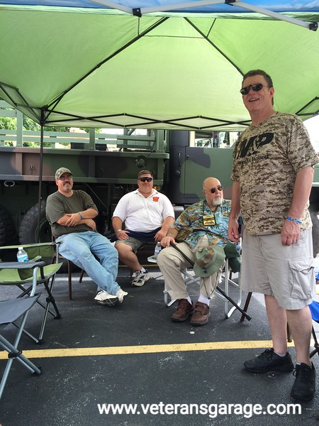 Mike Salamowicz (MV Owner), Jim Weber (MV Owner), Rick Treadway (MV Owner) and Brian Pettlon (MV Enthusiast)