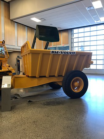Volve construction equipment tour