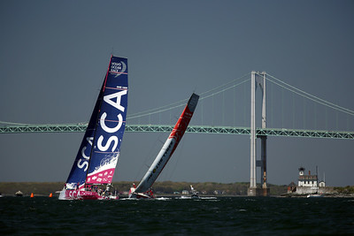 Team SCA, Dong Feng Race Team, 2015 Volvo Ocean Race, Newport Harbor, Narragansett Bay, Rhode Island