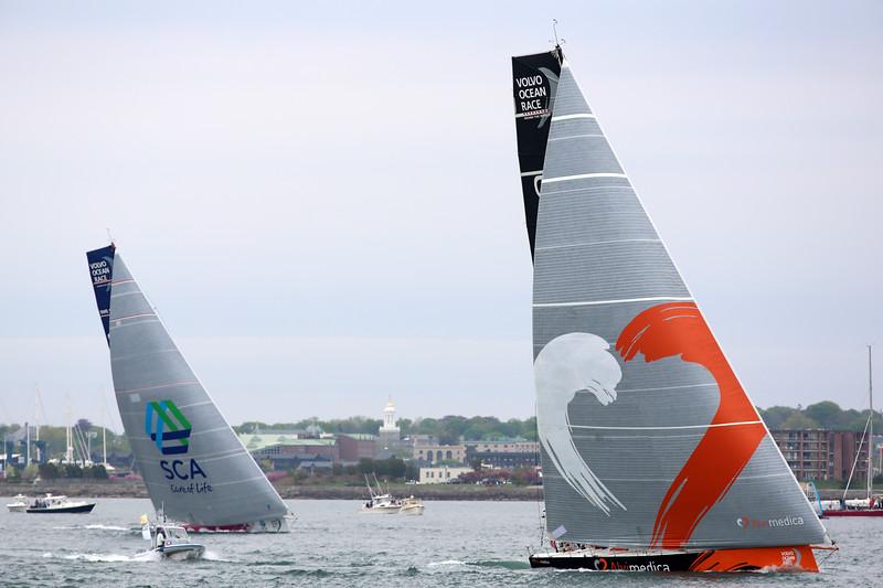 Team SCA, Team Alvimedica, 2015 Volvo Ocean Race, Newport Harbor, Narragansett Bay, Rhode Island
