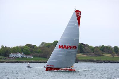 MAPFRE, 2015 Volvo Ocean Race, Newport Harbor, Narragansett Bay, Rhode Island