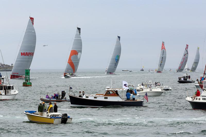 2015 Volvo Ocean Race, Newport Harbor, Narragansett Bay, Rhode Island