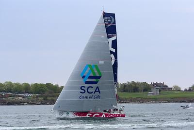 Team SCA, 2015 Volvo Ocean Race, Newport Harbor, Narragansett Bay, Rhode Island
