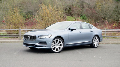 2017 Volvo S90 T6 Inscription Parked Footage