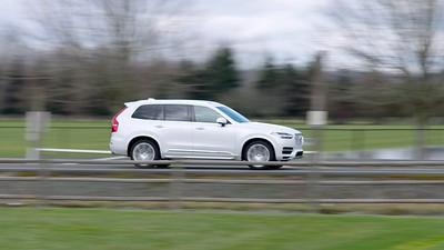 2017 Volvo XC90 T8 E AWD Driving Reel