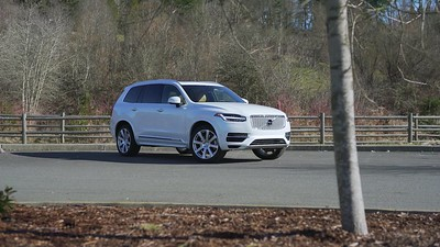 2017 Volvo XC90 T8 E AWD Parked Reel