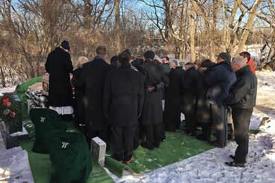 Chuck vonF Funeral Dec 30 2017