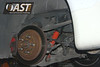 C5 Test car's rear suspension (Koni shock)