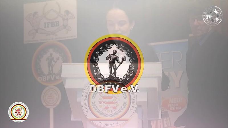 Ansprache zur 8. Internationalen Ostdeutschen Meisterschaft in Bodybuilding und Fitness - TBFV e.V. & DBFV e.V. - Karrideo Imagefilmproduktion ©®™