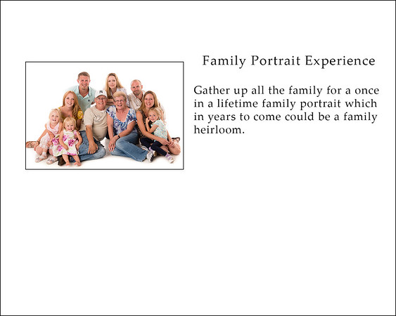 family portrait experience web