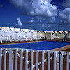 """The seaside resort of """"Cayeux-sur-Mer""""."""