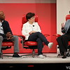 Code Conference 2021, Beverly Hills | Jon Fortt, CNBC Co-anchor, TechCheck, and Host, Fortt Knox; Kara Swisher, Co-Founder and Producer Code Conference, Co-host Pivot Podcast by Vox Media; Lisa Su, President and CEO, AMD;