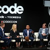 Code Conference 2021, Beverly Hills  | Casey Newton, The Verge | Kathryn Murdoch, Quadrivium Foundation | Rashad Robinson, Color of Change | Chris Krebs, Aspen Institute