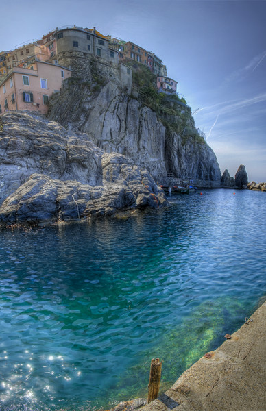 Baia di Manarola-cimque terre-Liguria