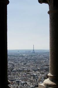 Vue du Dome du Sacré-Coeur