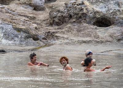 Vulcano, Bain de boue, Iles Eoliennes