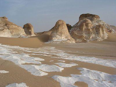 Egypte - désert blanc (avril 2004)