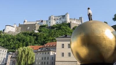 La forteresse Hohensalzburg, une citadelle du XIe siècle
