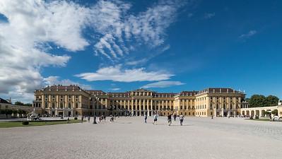 Château de Schönbrunn, côté cour
