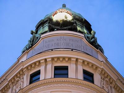 Un des immeubles remarquables de la place Albertina