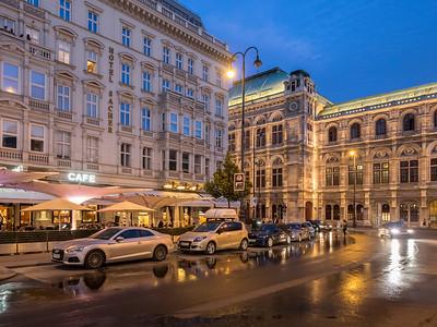 Le célèbre Staatsoper, l'opéra de Vienne