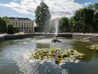 Château de Schönbrunn, côté jardins
