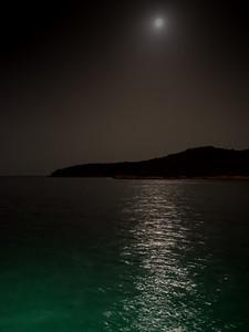 Clair de lune sur l'Adriatique