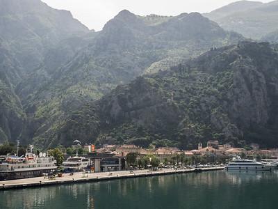 La ville  de Kotor