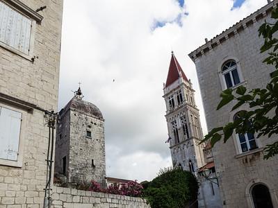 La petite ville de Trogir