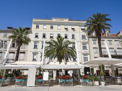"""Prendre un café sur la Riva, un """"must"""" pour tout bon Splitois..."""