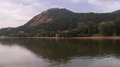 Le château de Visegrád en Hongrie