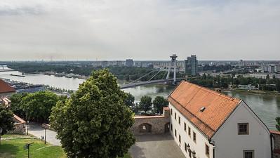 Le fleuve à Bratislava