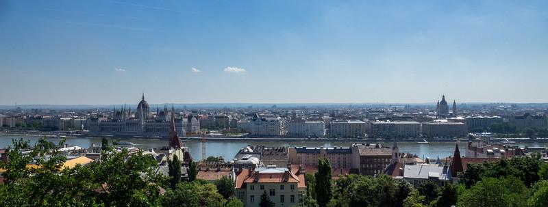 Le fleuve à Budapest