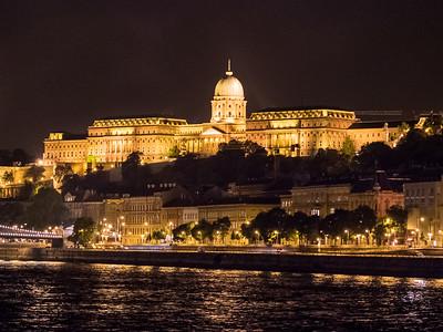 La Palais royal de Buda
