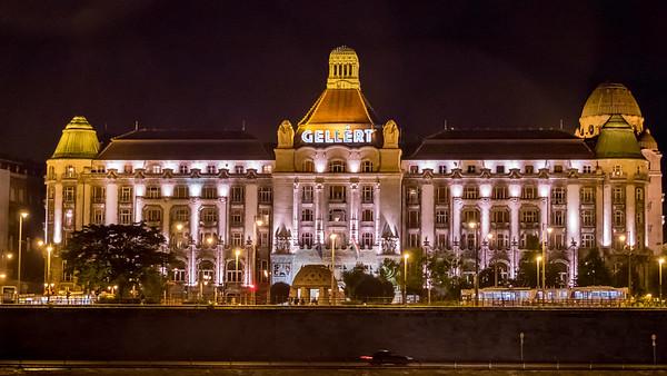 L'hôtel Gellért