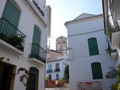 Rue du village de Salobreña