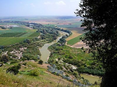 La campagne au pied de la citadelle d'Almodóvar del Río
