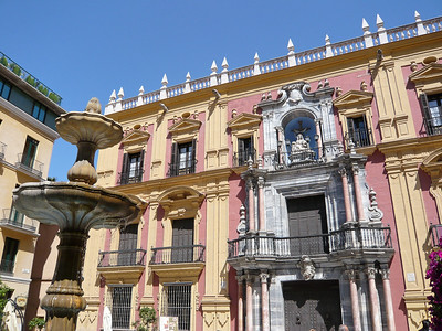 Plaza del Obisp à Malaga